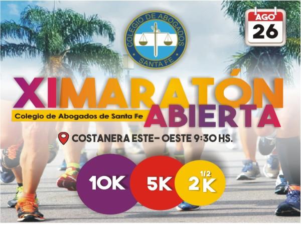 XI Maraton Colegio De Abogados