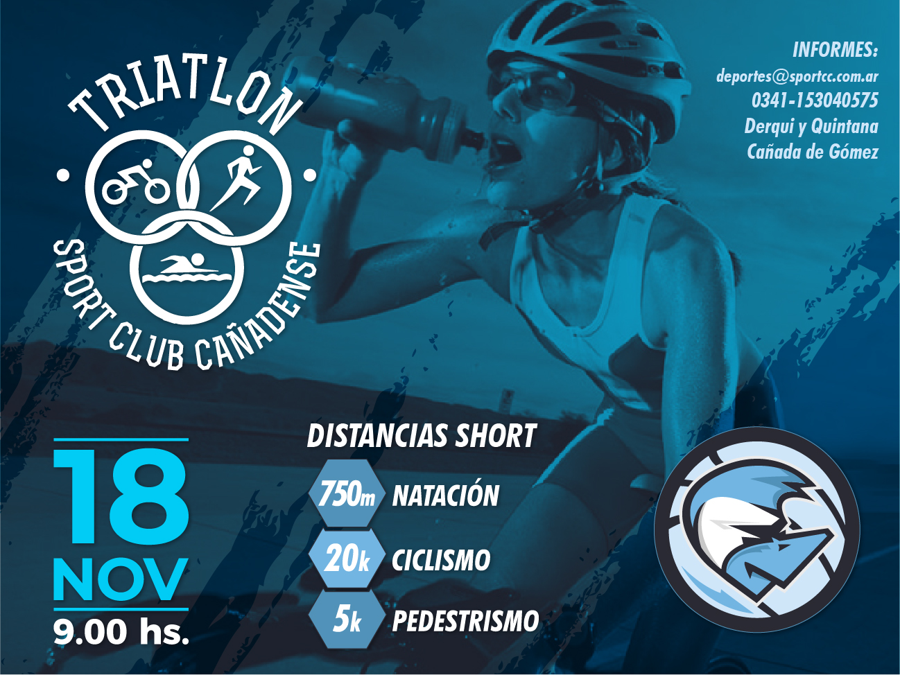 TRIATHLON SHORT- SPORT CLUB CAÑADENSE