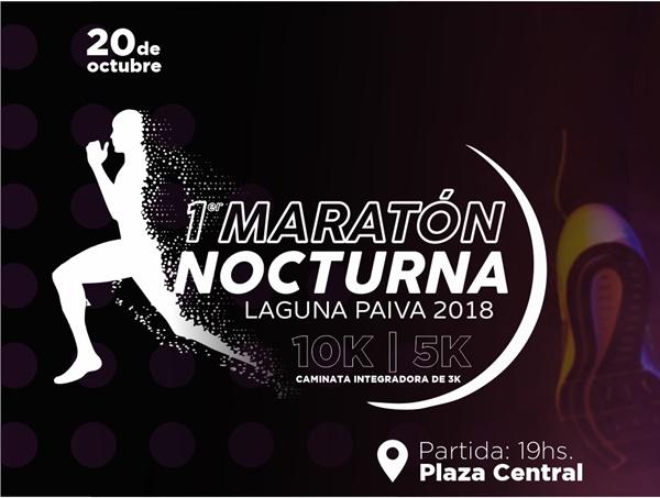 10K NOCTURNOS LAGUNA PAIVA 2018