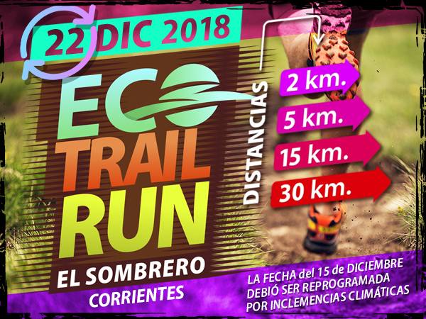 ECO TRAIL RUN - EL SOMBRERO 2,5K / 5K / 15K / 30K