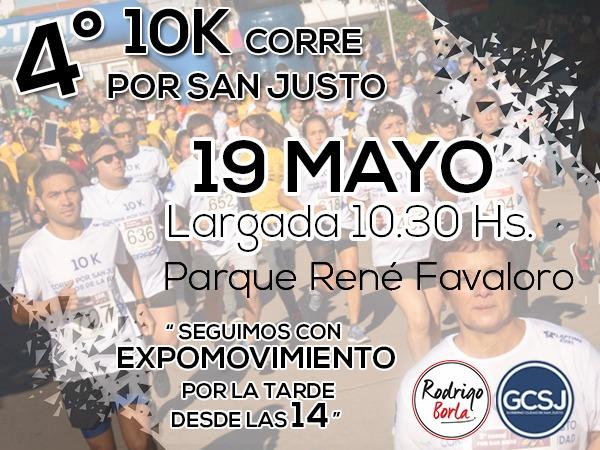 4º 10k CORRE Por SAN JUSTO