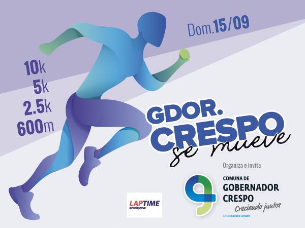 10K Gobernador Crespo SE MUEVE